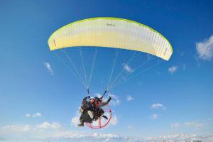 motor paraglider