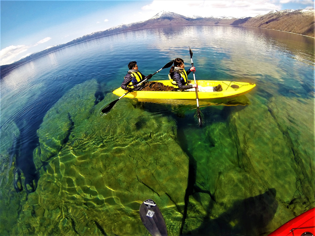 clear kayak