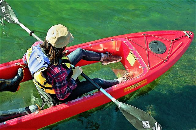 clear kayaking