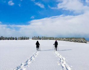 snowshoeing in sapporo