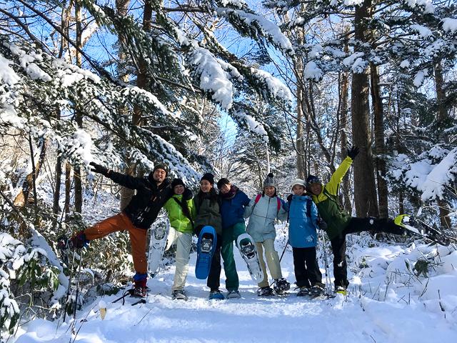 snowshoeing_in_nopporo