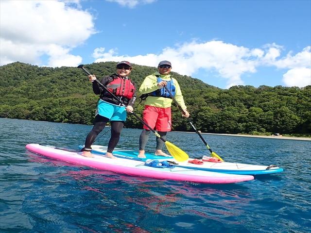 Lake Shikotsu SUP