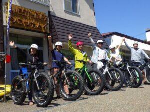 Fatbike tour in Lake Shikotsu