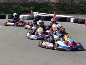 Go-kart in Chitose