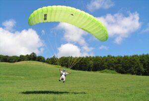 Motor Paraglider in Tokachi