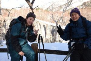 Snowshoeing in Tokachi