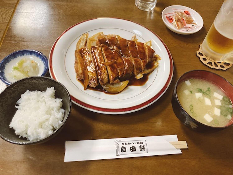【旭川/定食】昔ながらの正統派食堂「自由軒」で定食を