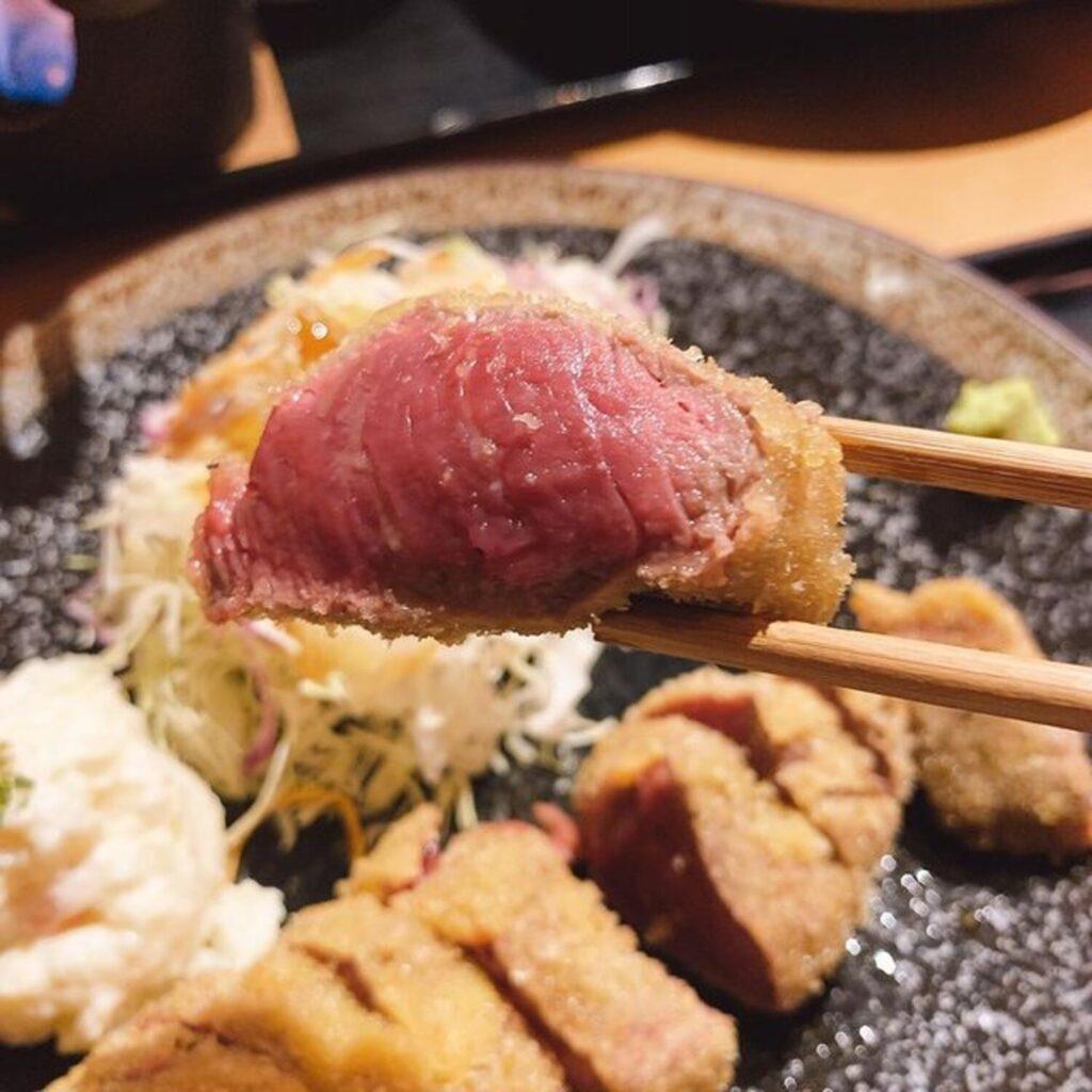 【札幌/牛かつ】北海道産の上質な牛肉でいただく「牛かつ専門ふしみ」の牛かつ!