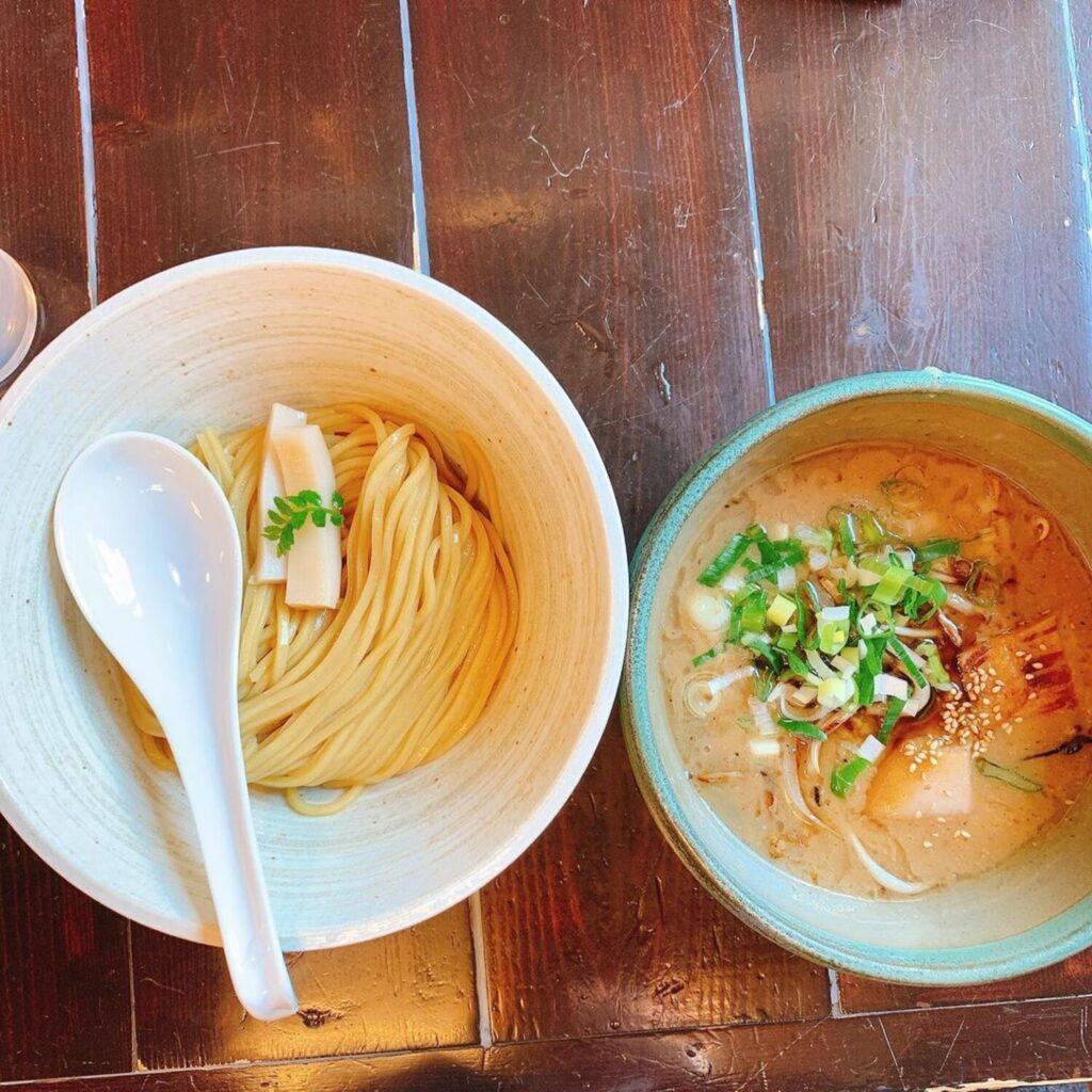 【札幌/つけ麺】見た目にも美しい「風來堂」の濃厚味噌つけ麺!