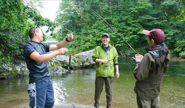 みんなで釣りを楽しもう