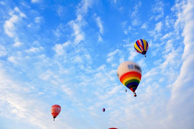 ヘリウム気球
