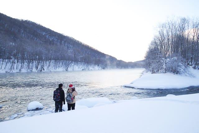 真冬のフシギ体験