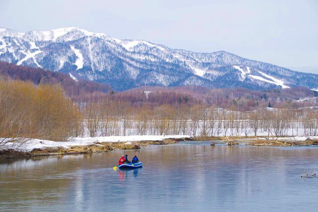 冬の川下り