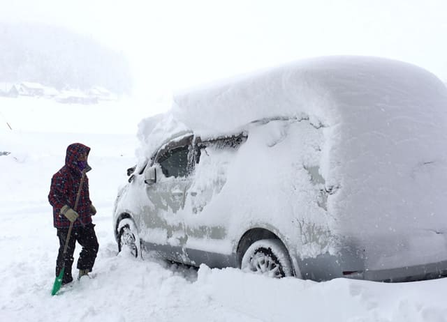 旭川の大雪