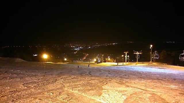 富良野スキー場ナイター