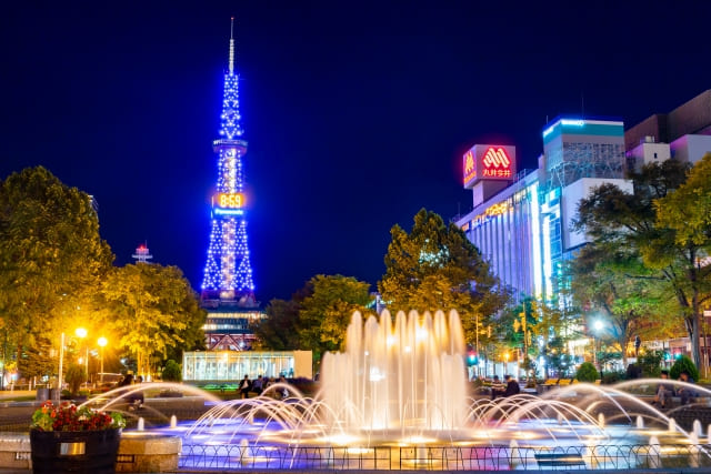 札幌ナイトツアー