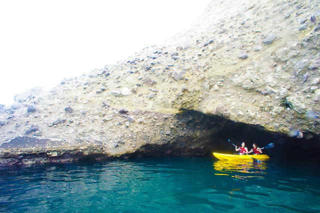 青の洞窟クリアカヤック