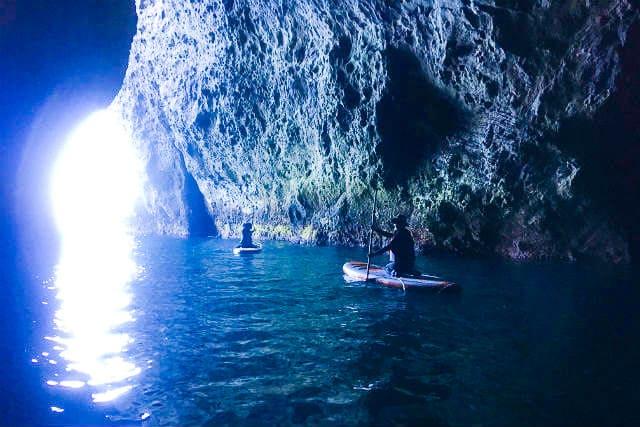 青の洞窟SUP