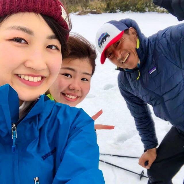 野幌森林公園スノーシュー_09