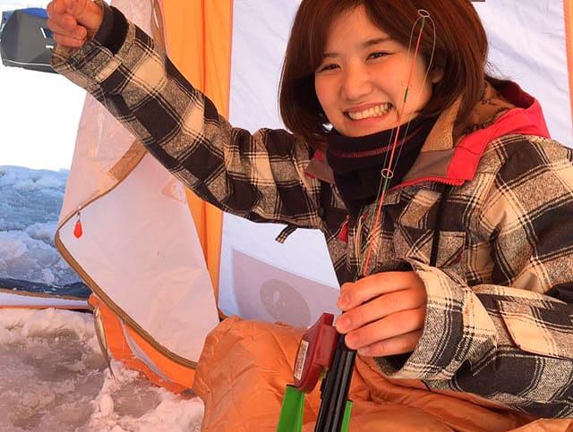 札幌ワカサギ釣り