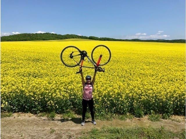 菜の花畑サイクリングツアー