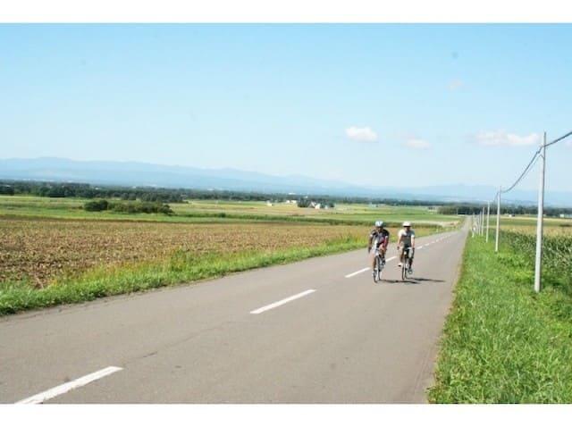 農風景を楽しむサイクリングツアー