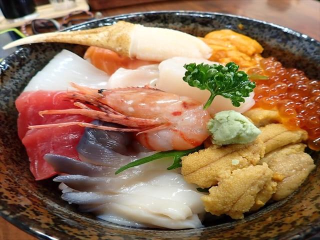 積丹SUP、海鮮丼