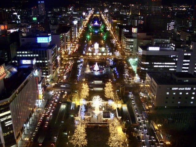 大通公園_夜景