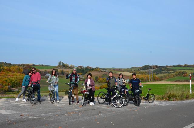 ラベンダーサイクリング