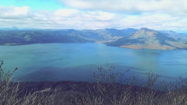 支笏湖 風景