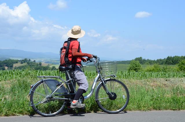 富良野サイクリング