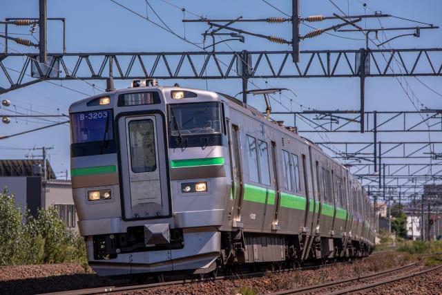千歳線 電車