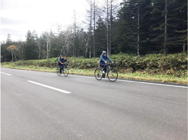 知床清里サイクリング