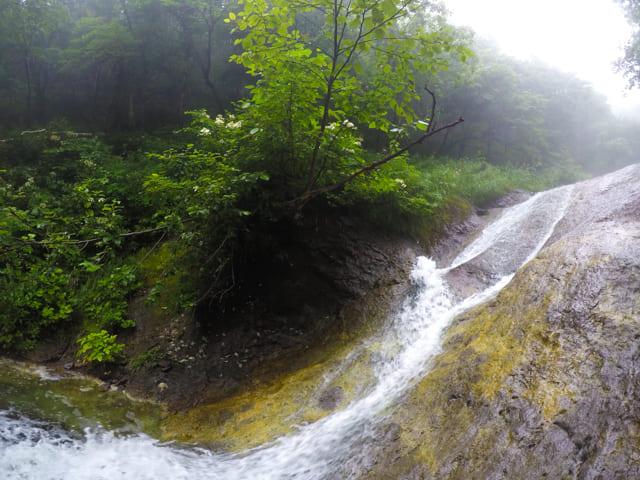 カムイワッカ湯の滝_知床