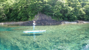 支笏湖SUP
