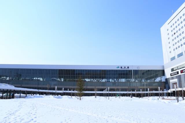 旭川 風景 冬