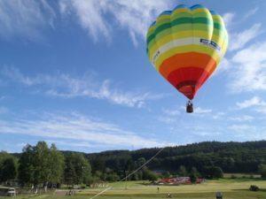 十勝 熱気球