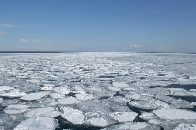 流氷SUP